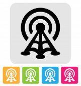 radio tower symbol