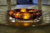 Monument - The Eternal Flame In The Center Of Minsk
