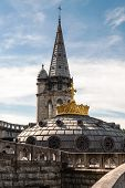 Basilica Roof With The Crown
