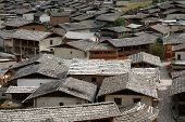 Rooftops of Zhongdian
