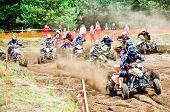 Polish Western Zone Motocross Championship Round Vi Poland