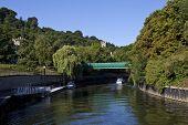 foto of avon  - The river Avon flowing through Bath in Somerset - JPG