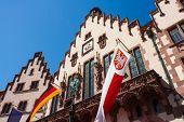 Town Hall Roemer Of Frankfurt