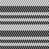Geometrical seamless flat pattern with 3d illusion.