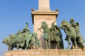 Statues Of Hungarian Chieftains