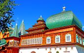 Ancient palace of the Russian Tsar Alexei Mikhailovich in Moscow