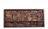 Antique Printing Blocks