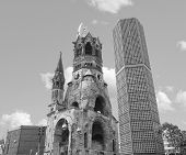 Ruins Of Bombed Church, Berlin