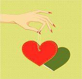 Heart In Arm