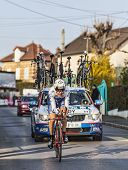 The Cyclist J�r�my Roy- Paris Nice 2013 Prologue In Houilles