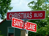 Street Signs for Christmas
