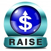 income or pay raise a rise in higher salary payment increase negotiation for job promotion