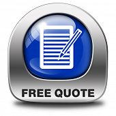 free quote button or icon