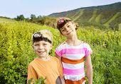 Kids Enjoying a Summer Adventure