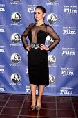 SANTA BARBARA - FEB 6:  Karina Smirnoff at the Santa Barbara International Film Festival Honors Scorsese & DiCaprio at Arlington Theater on February 6, 2014 in Santa Barbara, CA