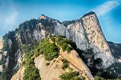 Sacred mountain Huashan, Xi'an, China