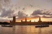 Sunset Over Big Ben