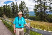 Active Healthy Senior Tourist