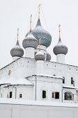 picture of uglich  - White church in winter in Uglich in Russia - JPG