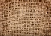 Old burlap texture pattern background