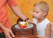 Birthday Cake With Car