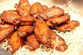 Delicious Barbecue Chicken Wings