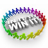 In It To Win It - corredores y palabras