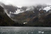 Mountains And Glaciers In The Kenai Peninsula, Alaska