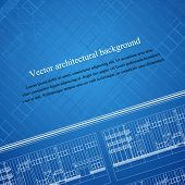 Architecture background of a building  blueprint