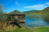 Boat House, Lake Schliersee, Germany