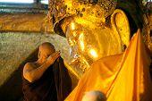 The Worship Mahamyatmuni Buddha.