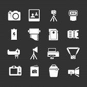 Set Icons Of Photo