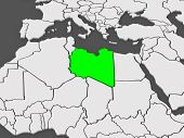 image of libya  - Map of worlds - JPG
