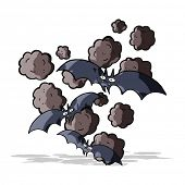 foto of vampire bat  - cartoon vampire bats - JPG