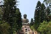 Big Buddha in Lantau, Hong Kong