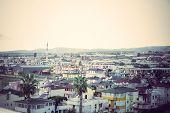 View Of Konakli City. Toning In Vintage