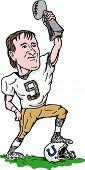 New Orleans Saints quarterback super bowl champion