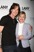 LOS ANGELES - AUG 4:  Ronn Moss, Mary Beth Evans at the