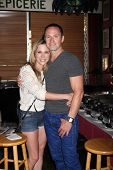 LOS ANGELES - AUG 1:  Kelly Sullivan, William deVry at the William deVry Fan Club Event at the Calif