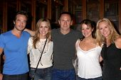 LOS ANGELES - AUG 1:  Ryan Carnes, Kelly Sullivan, WIlliam deVry, Nancy Lee Grahn, Rebecca Staab at