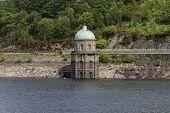Foel Tower, Water Intake In The Garreg-ddu Reservoir.