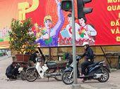 Motorcyclists Hanoi
