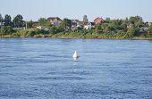 View Of Neva River