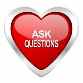 ask questions valentine icon