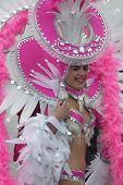 Carnival Dancer in Pink