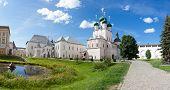 Panorama of the Kremlin in city Rostov