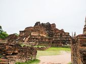 Wat Mahatat Ancient Building And Historical Place