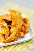 Caramelized Crisps.