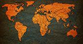 Azerbaijan Territory On World Map