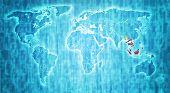 Asean Territory On World Map